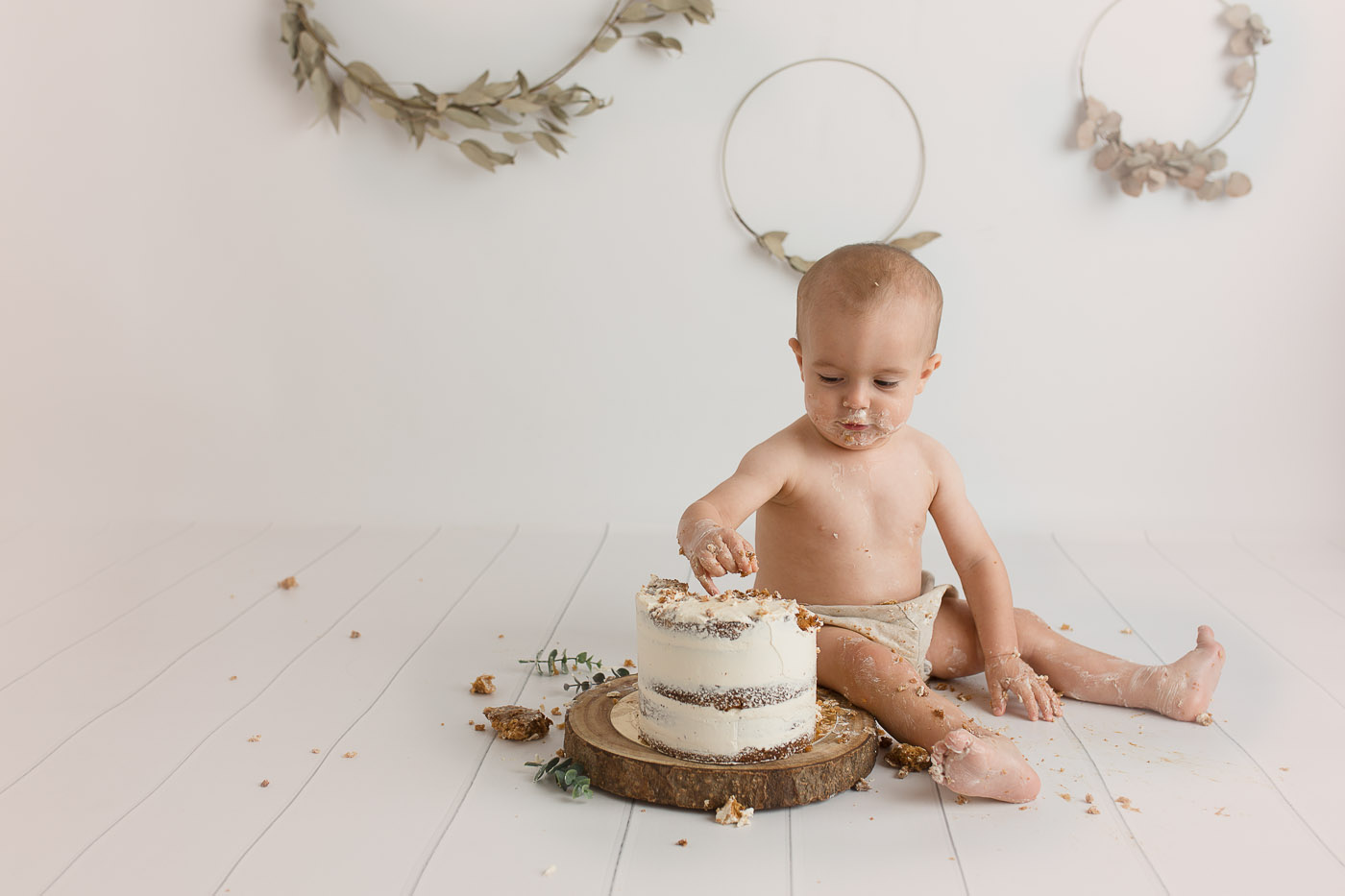 reportaje primer cumpleaños santander