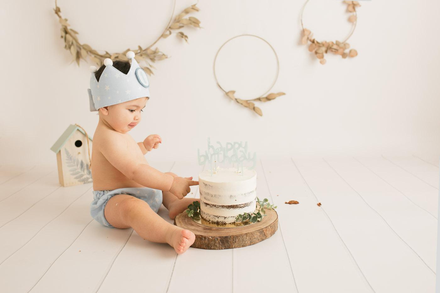 fotografia primer cumpleaños santander