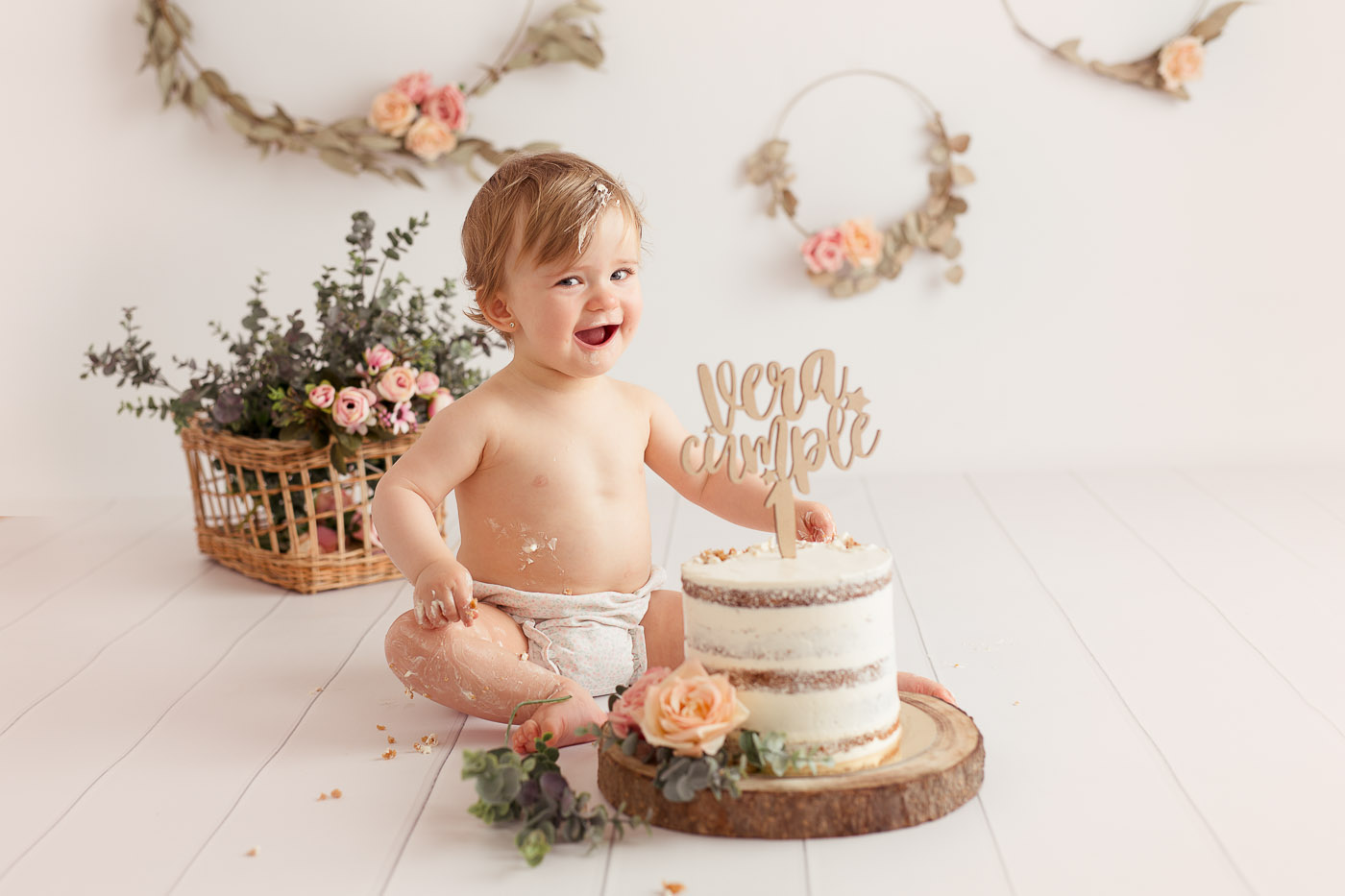 fotografo primer cumpleaños santander cantabria